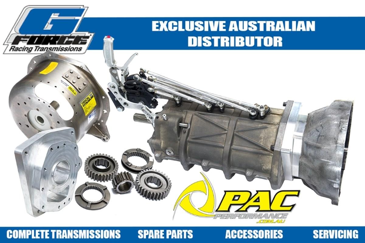 G-FORCE RACING TRANSMISSION AUSTRALIAN DISTRIBUTOR  Pac