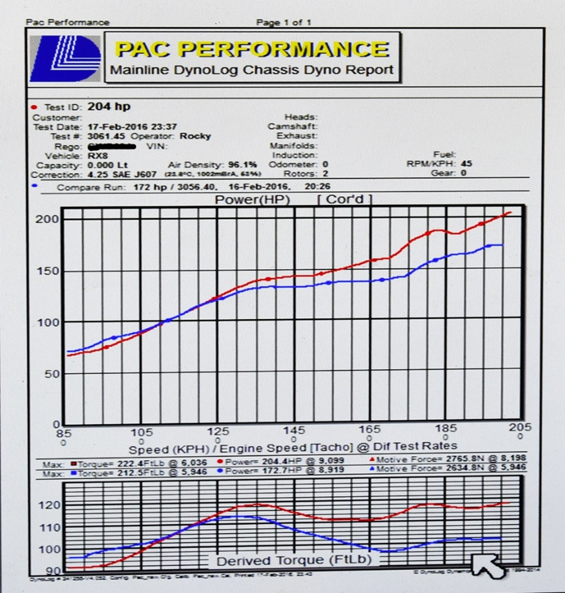 Breaking News Rx8 Stage 2 Power Upgrade Hits 200 Hp Pac 120 Force Engine Diagram For The Is Strapped On To Our Mainline Dyno Rocky Then Flashes Ecu Allowing Him Tweak Tune And Take Full Advantage Of Upgrades