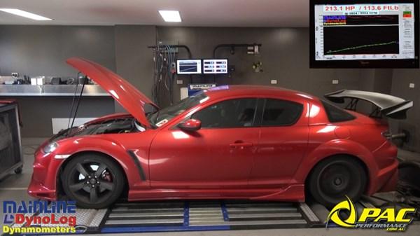 RX8  Pac Performance Racing