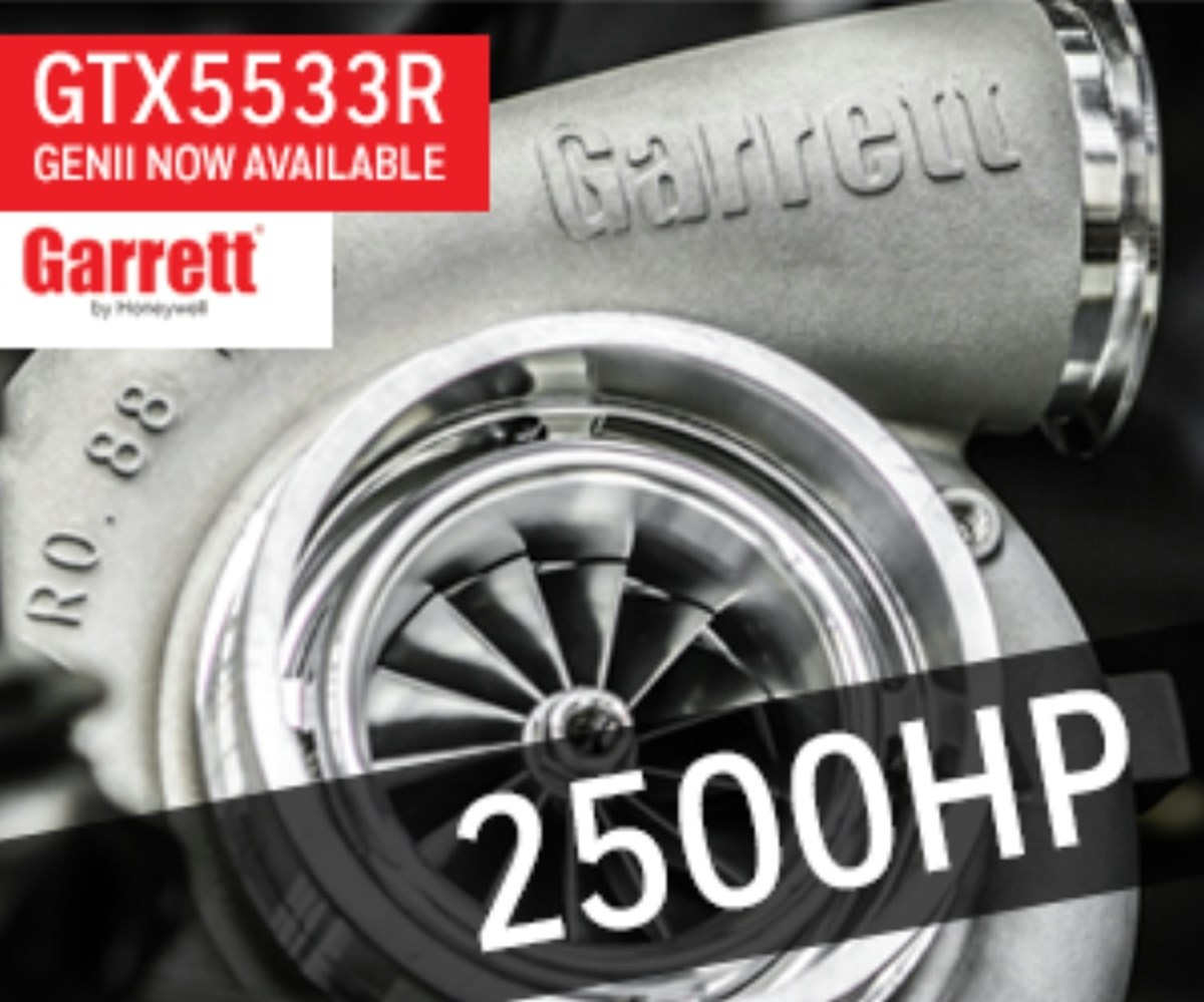 GARRETT GTX5533R GENII AVAILABLE NOW  Pac Performance Racing
