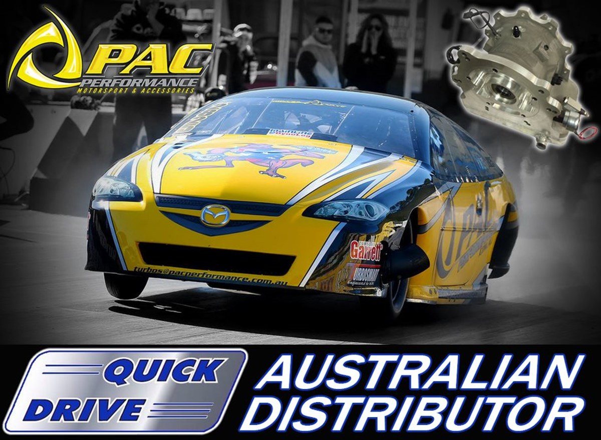 Pac Performance Team Up With Quick Drive