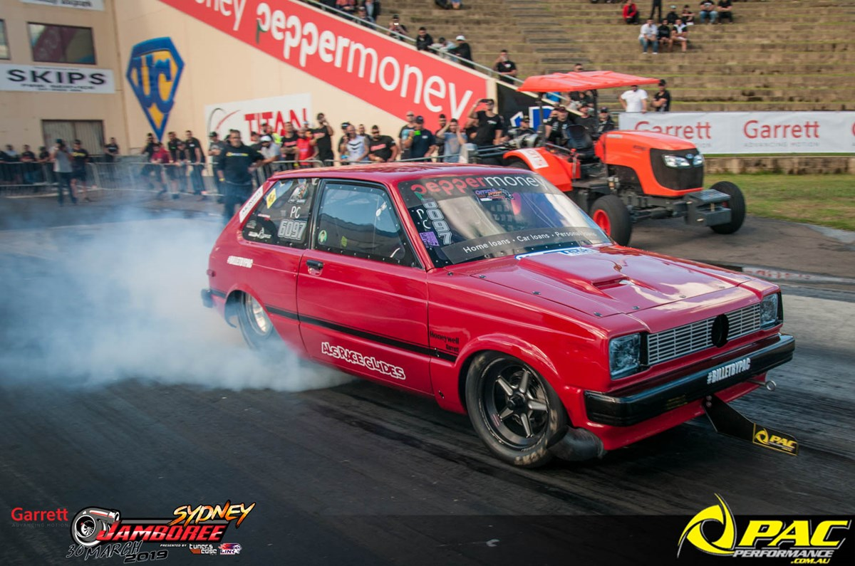 FOR SALE - FULL CHASSIS TOYOTA STARLET DRAG CAR  Pac
