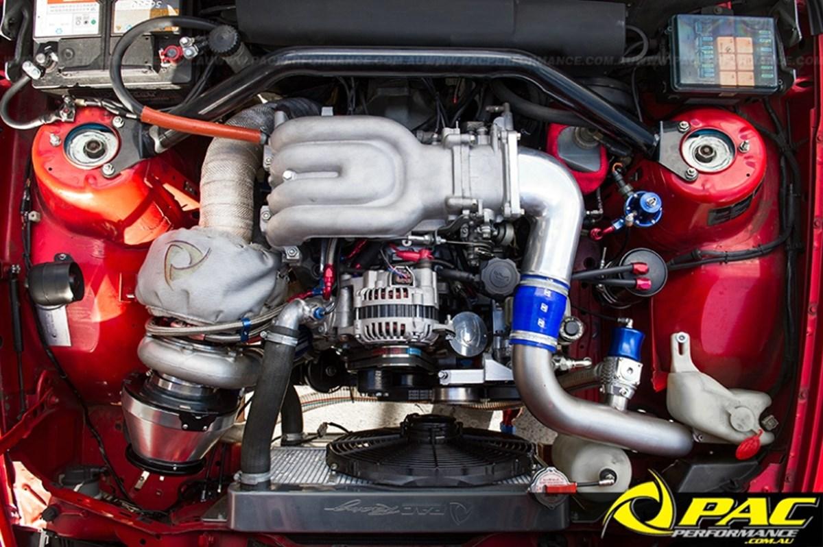 RROTOR - E30 BMW  Pac Performance Racing